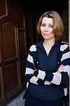 Elif Shafak at Christ Church during the Sunday Times Oxford Literary Festival, UK, 2-10 April 2011.<br />