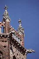 Europe/France/Midi-Pyrénées/09/Ariège/Couserans/Pamiers: La cathédrale St-Antonin - Le clocher hexagonal, détail