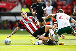 Billy Sharp of Sheffield Utd during the Championship League match at Bramall Lane Stadium, Sheffield. Picture date 19th August 2017. Picture credit should read: Simon Bellis/Sportimage