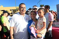 Carrera CIMA a favor de la Fundaci&oacute;n de Sylvana Beltrones.<br /> <br /> Manlio Fabio Beltrones, Sylvana Beltones y la ni&ntilde;a Sylvanita.<br />  <br /> **Photo&reg;&copy;:LuisGutierrez/NortePhoto