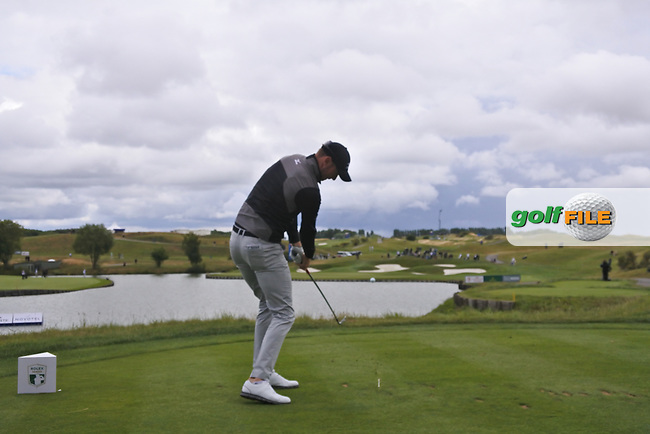 Chris Wood (ENG) on the 2nd tee during Round 2 of the HNA Open De France  at The Golf National on Friday 30th June 2017.<br /> Photo: Golffile / Thos Caffrey.<br /> <br /> All photo usage must carry mandatory copyright credit      (&copy; Golffile | Thos Caffrey)