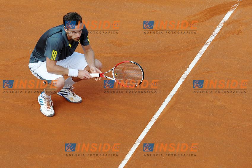 Ernests Gulbis .Roma 16/05/2013 Foro Italico .Tennis Internazionali d'Italia 2013 .Foto Antonietta Baldassarre Insidefoto