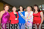 GUESTS: Invited to the Kerry Rose selection on Friday evening in Ballyroe Heights Hotel, Tralee, l-r: Oonagh O'Gara, Anna Mccarthy, Ann Marie Hayes, Nancy Keane and Amy Keane.