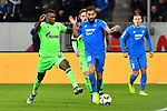 01.12.2018, wirsol Rhein-Neckar-Arena, Sinsheim, GER, 1 FBL, TSG 1899 Hoffenheim vs FC Schalke 04, <br /> <br /> DFL REGULATIONS PROHIBIT ANY USE OF PHOTOGRAPHS AS IMAGE SEQUENCES AND/OR QUASI-VIDEO.<br /> <br /> im Bild: Haji Wright (FC Schalke 04 #40) gegen Kerem Demirbay (TSG Hoffenheim #10)<br /> <br /> Foto &copy; nordphoto / Fabisch