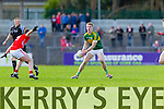 Tommy Walsh Kerry in action against Fintan Goold Cork in the National Football League at Pairc Ui Rinn, Cork on Sunday.