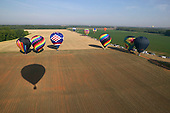Hot-air Balloons during Alabama Jubilee Hot-Air Balloon Classic