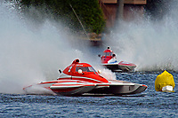 "Chris Ritz, Y-2, Keith McMullen, Y-80 ""Outlaw""      (1 Litre MOD hydroplane(s)"