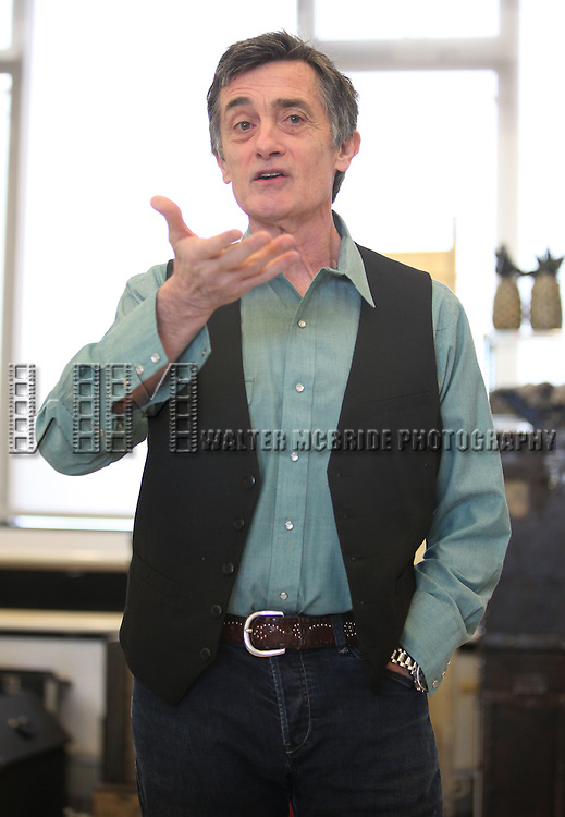 Roger Rees (Director).attending the Meet & Greet for the Cast & Creative Team of 'Peter And The Starcatcher' at Ballet Hispanico in New York City on 3/9/2012.