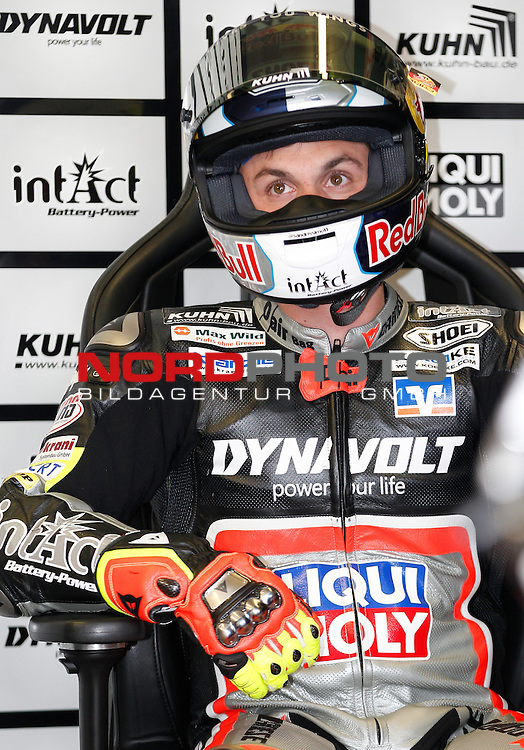 Monster Energy Grand Prix de France in Le Mans 15.-17.05.2015, Free Practice, Qualifying, Box.<br /> <br /> 11 Sandro Cortese / Deutschland<br /> <br /> Foto &copy; nordphoto / FSA