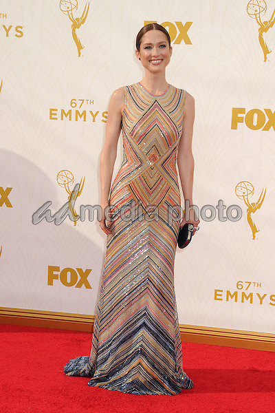 20 September 2015 - Los Angeles, California - Ellie Kemper. 67th Annual Primetime Emmy Awards - Arrivals held at Microsoft Theater. Photo Credit: Byron Purvis/AdMedia