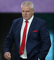 Warren Gatland (Head coach) of Wales during the 2019 Rugby World Cup bronze final match between New Zealand All Blacks and Wales at the Tokyo Stadium at the Tokyo Stadium in Tokyo, Japan on Friday, 1 November 2019. Photo: Steve Haag / stevehaagsports.com