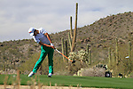 Matteo Manassero (ITA) in action on the 13th tee during Day 3 of the Accenture Match Play Championship from The Ritz-Carlton Golf Club, Dove Mountain, Friday 25th February 2011. (Photo Eoin Clarke/golffile.ie)