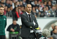 Trainer Adi Hütter (Eintracht Frankfurt) - 24.10.2019:  Eintracht Frankfurt vs. Standard Lüttich, UEFA Europa League, Gruppenphase, Commerzbank Arena<br /> DISCLAIMER: DFL regulations prohibit any use of photographs as image sequences and/or quasi-video.