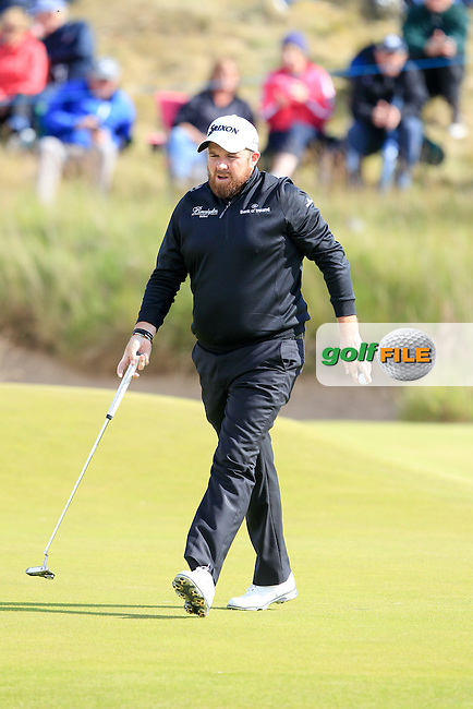 Shane Lowry (IRL) during the first round of the Aberdeen Asset Management Scottish Open 2016, Castle Stuart  Golf links, Inverness, Scotland. 07/07/2016.<br /> Picture Fran Caffrey / Golffile.ie<br /> <br /> All photo usage must carry mandatory copyright credit (&copy; Golffile | Fran Caffrey)