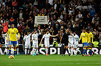 Real Madrid's celebrate goal  and UD Las Palmas'  during La Liga match. November 5,2017. (ALTERPHOTOS/Inma Garcia)