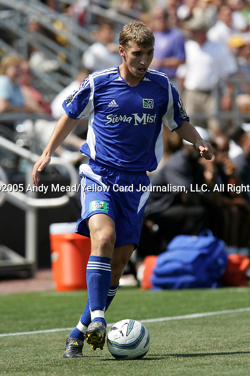 30 July 2005: Ronnie O'Brien. Major League Soccer's All-Stars defeated Fulham FC of the English Premier League 4-1 at Columbus Crew Stadium in Columbus, Ohio in the 2005 Sierra Mist MLS All-Star Game.
