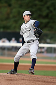 September 9 2008:  Pitcher David Phelps of the Staten Island Yankees, Class-A affiliate of the NY Yankees, during Game One of the opening playoff series at Russell Diethrick Park in Jamestown, NY.  Photo by:  Mike Janes/Four Seam Images
