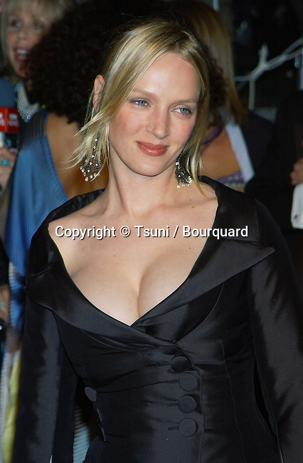 """Uma Thurman arriving at the Vanity Fair, after Oscars party, @ the """"Morton"""" in Los Angeles. March 25, 2002.            -            ThurmanUma10.jpg"""