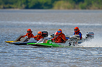 #5 leads them to the start(J-Stock, Outboard Hydroplane)