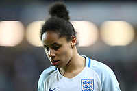 Demi Stokes (Manchester City) of England Women during the Women's Friendly match between England Women and Austria Women at stadium:mk, Milton Keynes, England on 10 April 2017. Photo by PRiME Media Images / David Horn.