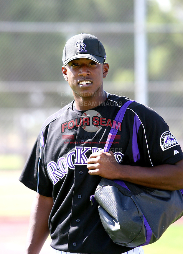 Edgmer Escalona / Colorado Rockies 2008 Instructional League..Photo by:  Bill Mitchell/Four Seam Images