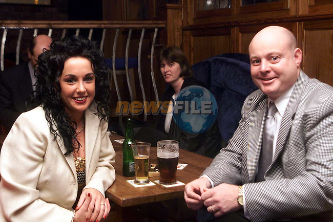 Stella Corduff and David Harries at the official opening of the Village Inn, Bettystown..Picture: Paul Mohan/Newsfile