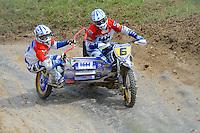 ADRIAENSSEN, Ben (BEL) und VERBRUGGE, Sven (BEL) auf WSP-KTM
