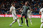 Real Madrid's Toni Kroos and Real Sociedad's David Zurutuza during La Liga match between Real Madrid and Real Sociedad at Santiago Bernabeu Stadium in Madrid, Spain. January 06, 2019. (ALTERPHOTOS/A. Perez Meca)<br />  (ALTERPHOTOS/A. Perez Meca)