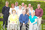 30TH ANNIVERSARY: Rev Martin Ashe, Killarney and Melbourne, Australia, (seated centre), pictured with his mother Eileen, brothers Denis, Tom, Sean, Frank and Michael, sisters Mairead, Teresa, Elizabeth, Miriam and Geraldine, as he celebrated the 30th anniversary of his ordination in Killarney on Sunday.   Copyright Kerry's Eye 2008