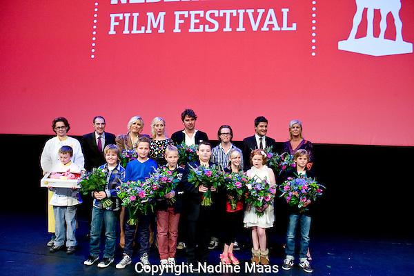 The Netherlands, Utrecht, 24 September 2011. .Nederlands Film Festival.Photo: Nadine Maas.Premiere Bennie Stout (Johan Nijenhuis) in de Stadsschouwburg