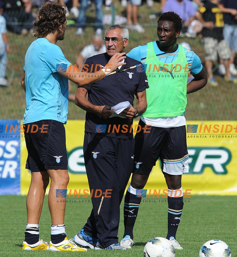 Edy Reja, allenatore della Lazio..Lazio vs Osasuna  0-1.Amichevole di calcio.Fiuggi, 28/07/2011.Photo Antonietta Baldassarre Insidefoto