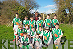 READY: The Dunmanway under 10 rugby team ready to take on Tralee under 10 in the Tralee Rugby Club rugby blitz at Tralee rugby club on Saturday morning.Seated front l-r: Ryan Crowley and Cillian McCarthy. 2nd row l-r: Michea?l Collins, Benji Sherlock, Con O'Sullivan, Zak Casey-Ellis, Piaras Hayes and Ian Quinn Back l-r:Calvin Harly, Darragh,Gerry and Joseph Collins, Peter Sherlock, Ryan Twomey and Jonathan McCarthy..
