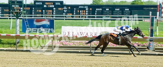 Bancroft winning at Delaware Park on 5/4/10