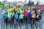 The start of the Jimmy Duffy Memorial cycle in Blennerville on Saturday.