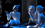"English National Ballet. ""Snow Queen"" backstage photography."