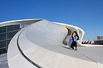 Posing At Heydar Aliyev Center