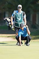 Shubhankar Sharma (IND) during Round 1 of the Portugal Masters, Dom Pedro Victoria Golf Course, Vilamoura, Vilamoura, Portugal, 24/10/2019<br /> Picture Andy Crook / Golffile.ie<br /> <br /> All photo usage must carry mandatory copyright credit (© Golffile | Andy Crook)