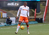 Blackpool's Donervon Daniels in action<br /> <br /> Photographer David Shipman/CameraSport<br /> <br /> The EFL Sky Bet League One - Charlton Athletic v Blackpool - Saturday 16th February 2019 - The Valley - London<br /> <br /> World Copyright © 2019 CameraSport. All rights reserved. 43 Linden Ave. Countesthorpe. Leicester. England. LE8 5PG - Tel: +44 (0) 116 277 4147 - admin@camerasport.com - www.camerasport.com