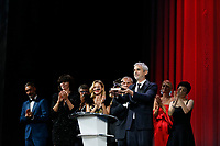 VENICE - September 8: Alfonso Cuaron for the Best Film awards on September 8, 2018 in Venice, Italy.(By Mark Cape/Insidefoto)