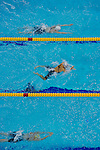 Swimmers compete during the 10th FINA World Swimming Championships (25m) at the Hamdan bin Mohammed bin Rashid Sports Complex on December 19, 2010 in Dubai, United Arab Emirates. Photo by Victor Fraile / Power Sport Images.