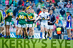 Kerry players after defeating Cavan in the All Ireland Minor Semi Final in Croke Park on Sunday.