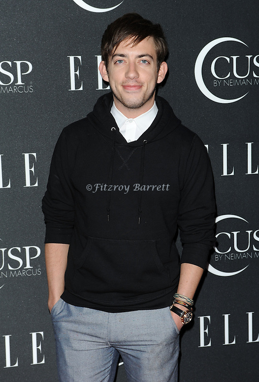 Kevin McHale arriving at 'ELLE 5th Annual Women In Music Concert Celebration' held at the Avalon Los Angeles, CA. April 22, 2014.