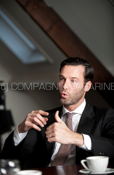 Olivier Leleux, CEO and owner of Leleux Associated Brokers (Belgium, 09/03/2016)