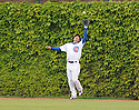 KOSUKE FUKUDOME, of the Chicago Cubs in action during the Cubs game against the Florida Marlins   at Wrigley Field in Chicago, IL  on May 12, 2010...The Chicago Cubs win 4-3.