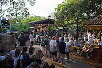 Guero's Taco Bar Live Oak Tree Beer Garden The beer garden of Guero's Taco Bar in Austin Texas. The live oak trees provide a wonderful setting for having your favorite drink while lisening to some live music at one of the anchor's of SOCO in Austin.
