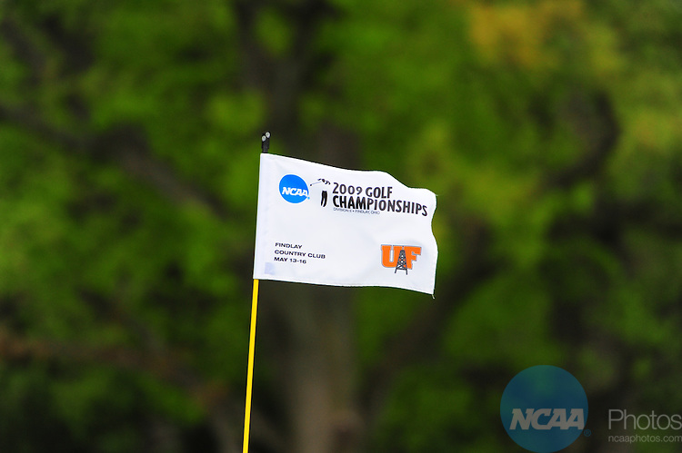 16 MAY 2009:  Competitors golf during the Division II Women's Golf Championship held at the Findlay Country Club in Findlay, OH.  Andrew Weber/NCAA Photos