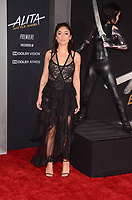 LOS ANGELES, CA - FEBRUARY 05: Rosa Salazar at the premiere of 'Alita: Battle Angel'  at Westwood Regency Theater on February 5, 2019 in Los Angeles, California. <br /> CAP/MPI/DE<br /> &copy;DE//MPI/Capital Pictures