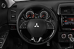 Car pictures of steering wheel view of a 2019 Mitsubishi ASX Invite Style 5 Door SUV