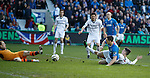 Lee Robinson saves from Lee Wallace
