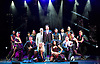 THE ILLUSIONISTS - WITNESS THE IMPOSSIBLE<br /> Conceived by Simon Painter at the Shaftesbury Theatre, London, Great Britain <br /> Press photocall <br /> 13th November 2015 <br /> <br /> Cast and dancers <br /> <br /> <br /> <br /> Photograph by Elliott Franks <br /> Image licensed to Elliott Franks Photography Services